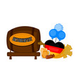 traditional oktoberfest concept image vector image vector image