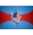 USA background Labor Day Independence Day vector image