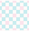 abstract chequered grid seamless pattern vector image