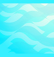 aquamarine abstract background vector image vector image