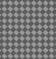 diagonal black and white seamless fabric texture vector image vector image
