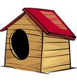 doghouse clip art cartoon vector image vector image
