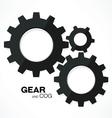 gear cogs vector image vector image
