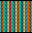 multicolor knitted seamless pattern vector image
