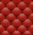 red royal upholstery seamless background vector image vector image