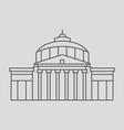 Romanian Capital vector image