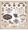 set of design elements vector image vector image