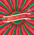 Square Christmas backgound with text vector image vector image
