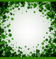 st patricks day square background vector image