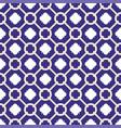 tile indigo blue and white decorative floor tiles vector image vector image