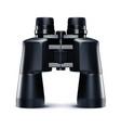 binoculars isolated on white 3d vector image