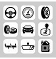 Auto parts vector image vector image