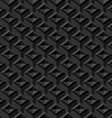 Black Seamless Texture Background vector image vector image