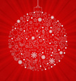 Christmas Discount Poster vector image vector image