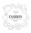Fashion Vintage Sketch vector image