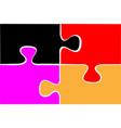 game puzzle icon design vector image
