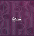 music equalizer digital glitch effect vector image vector image