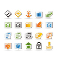 programming and computer icon vector image vector image