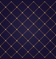 seamless abstract modern pattern with golden vector image vector image