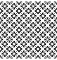 seamless pattern rounded lattice with crosses vector image vector image