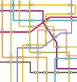 subway1 vector image vector image