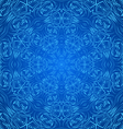 Abstract pattern in blue vector image