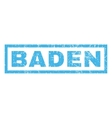 Baden Rubber Stamp vector image vector image