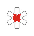 Dental clinic Logotype concept health medical vector image