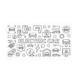 electric car minimal or ev concept vector image vector image