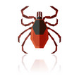 flat geometric tick vector image vector image