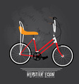 Hipster icons vector image vector image