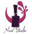 nail studio beauty salon polish or varnish bottle
