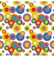 Seamless Pattern Abstract Psychedelic Art vector image vector image