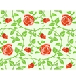 Seamless texture floral theme vector image