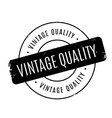 Vintage Quality rubber stamp vector image vector image