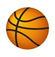 Basketball ball isometric 3d icon vector image