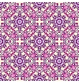 seamless pattern with Victorian style vector image