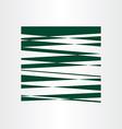 dark green abstract background design vector image