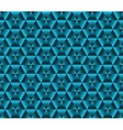 Abstrack color background blue triangles vector image