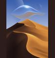 Desert scenery art