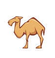 Flat style of camel good for logo