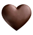 Heart Polygon Chocolate vector image vector image