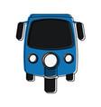 rickshaw or tuk tuk icon image