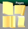 pages vector image