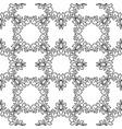 geometrical pattern flower vector image