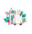 book festival concept vector image vector image