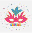 carnaval banner2 vector image