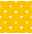 Seamless pattern with stars on yellow background vector | Price: 1 Credit (USD $1)