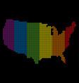 Spectrum pixel lgbt usa map