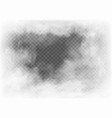 fog and smoke isolated on transparent background vector image vector image
